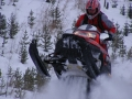 Snowmobiling in the Yaak
