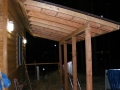 Roof for the deck