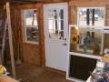 Cabin entrance before remodel