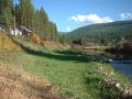 Yaak River near Woody's house