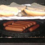 Hot Dogs in Cookstove - Cookstove Community