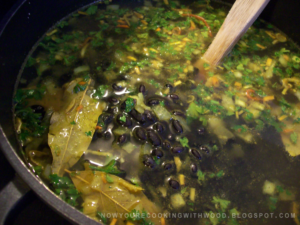 Black Beans in Curry Broth - Cookstove Community