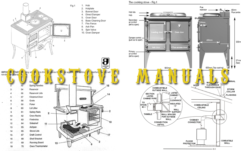 Cookstove Manuals