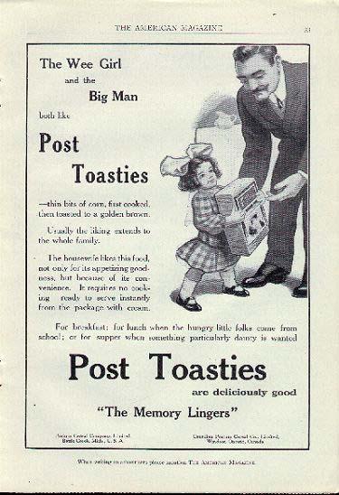 Post Toasties - Cookstove Community