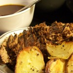 Rump Roast with Roasted Vegetables and Pan Gravy - Cookstove Community