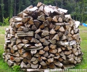 Holzhaufen Firewood Stack - Cookstove Community
