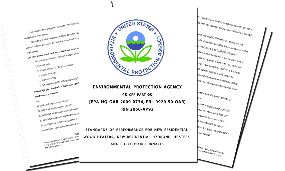 New Source Performance Standard (NSPS) Regulations Report - Cookstove Community