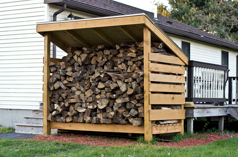Firewood Shed - Cookstove Community