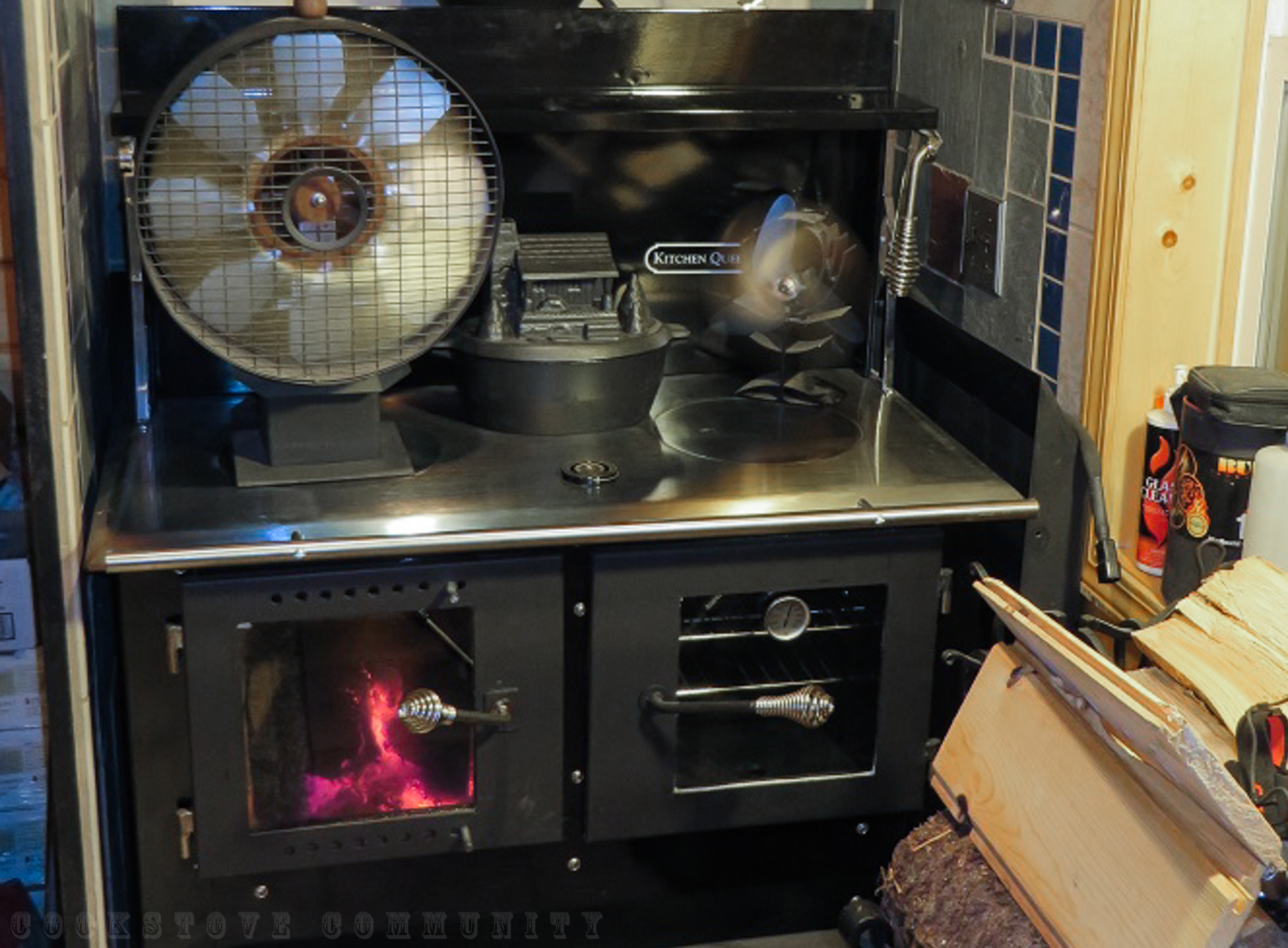 The Kitchen Queen Cookstove - Cookstove Community