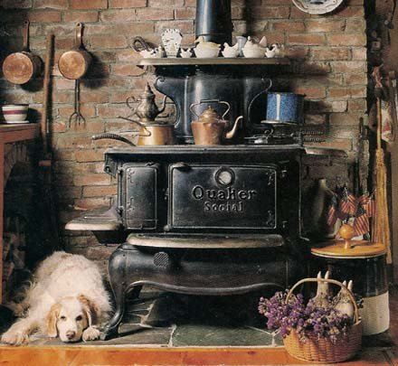 Quaker Antique Cookstove - Cookstove Community