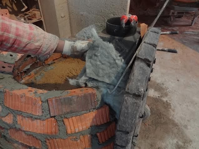 Portuguese Brick Pizza Oven with Cast Stone Face – Cookstove Community