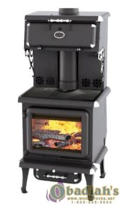 JA Roby - Rigel Black EPA Certified Cookstove