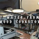 Hot Water From a Wood Cookstove