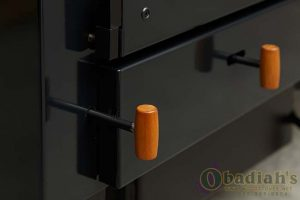 Obadiah's 2000 Wood Cookstove - Damper Control