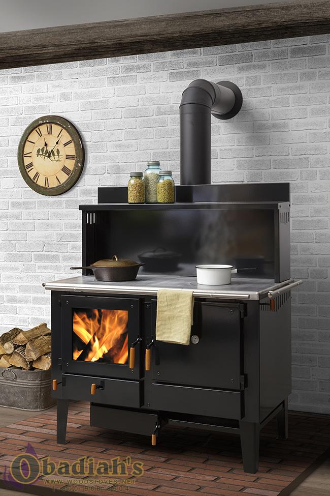 Wood Burning Kitchen Ranges