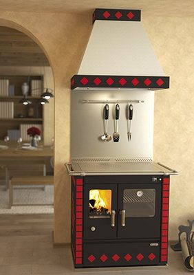 Rizzoli S90 Wood Cookstove