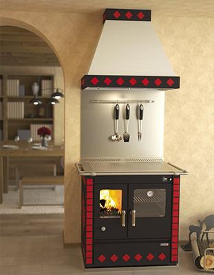 Rizzoli S90 Wood Cookstove