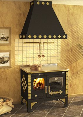 Rizzoli S90 Story Vintage Wood Cookstove