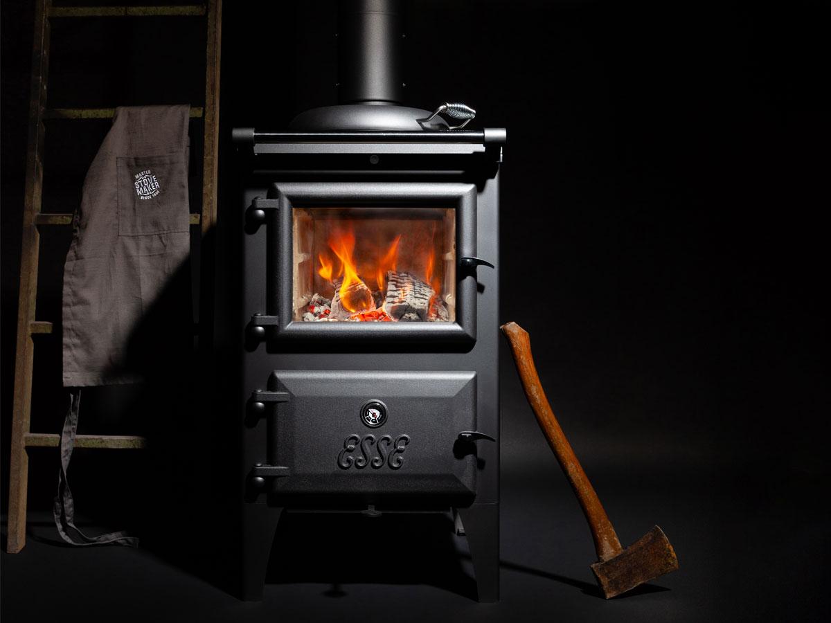 Esse Bakeheart Wood Cook Stove – Firebox