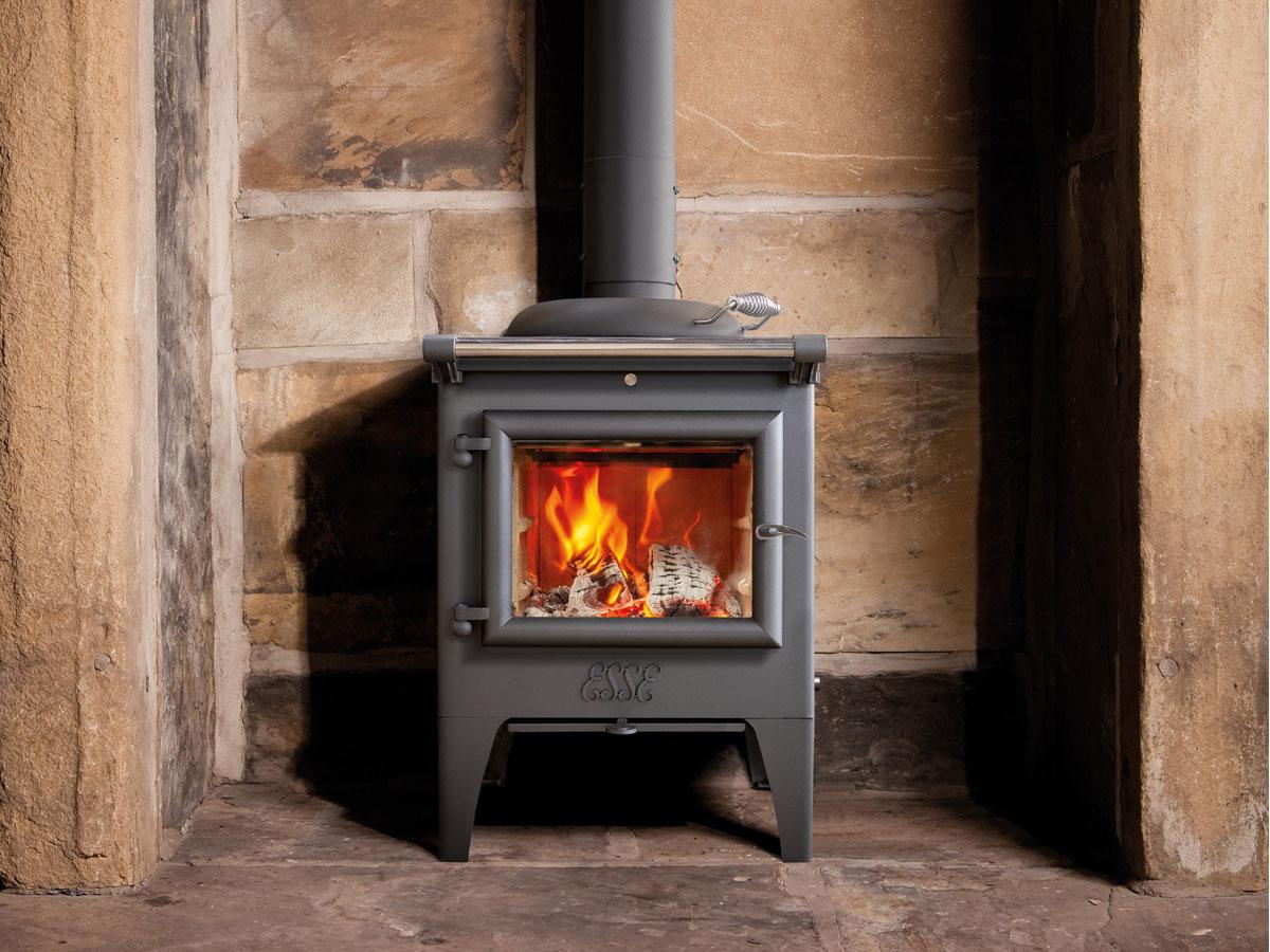 Esse Warmheart Wood Cook Stove – Firebox